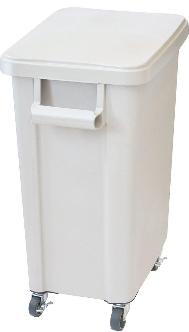リス 業務用ゴミ箱 厨房用キャスターペール 70L 排水栓付き グレー 16051 B00VSYO0IKグレー 70L