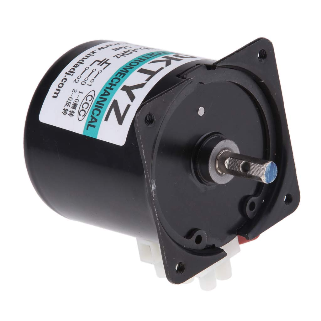 KESOTO 60KTYZ Synchronous Gear Motor AC 220V 30r/min CW/CCW Control 14W 50-60HZ
