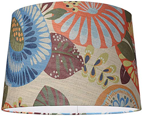 Tropic Drum Shade 14x16x11 (Spider) - Springcrest