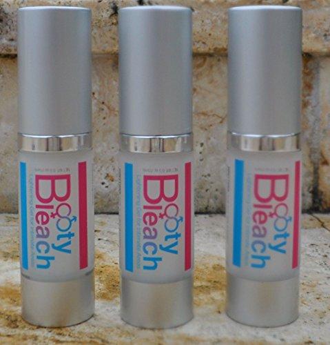 Booty Bleach 3 PACK - Alléger gel pour les zones intimes comme l'anus, de la peau vaginale, mamelons, vagin, pénis et du scrotum.