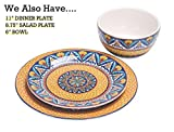 Bico Havana Ceramic Pasta Bowl, Set of 5