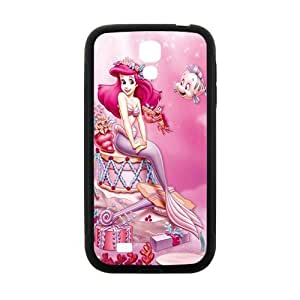 Happy Pink lovely mermaid Cell Phone Case for Samsung Galaxy S4