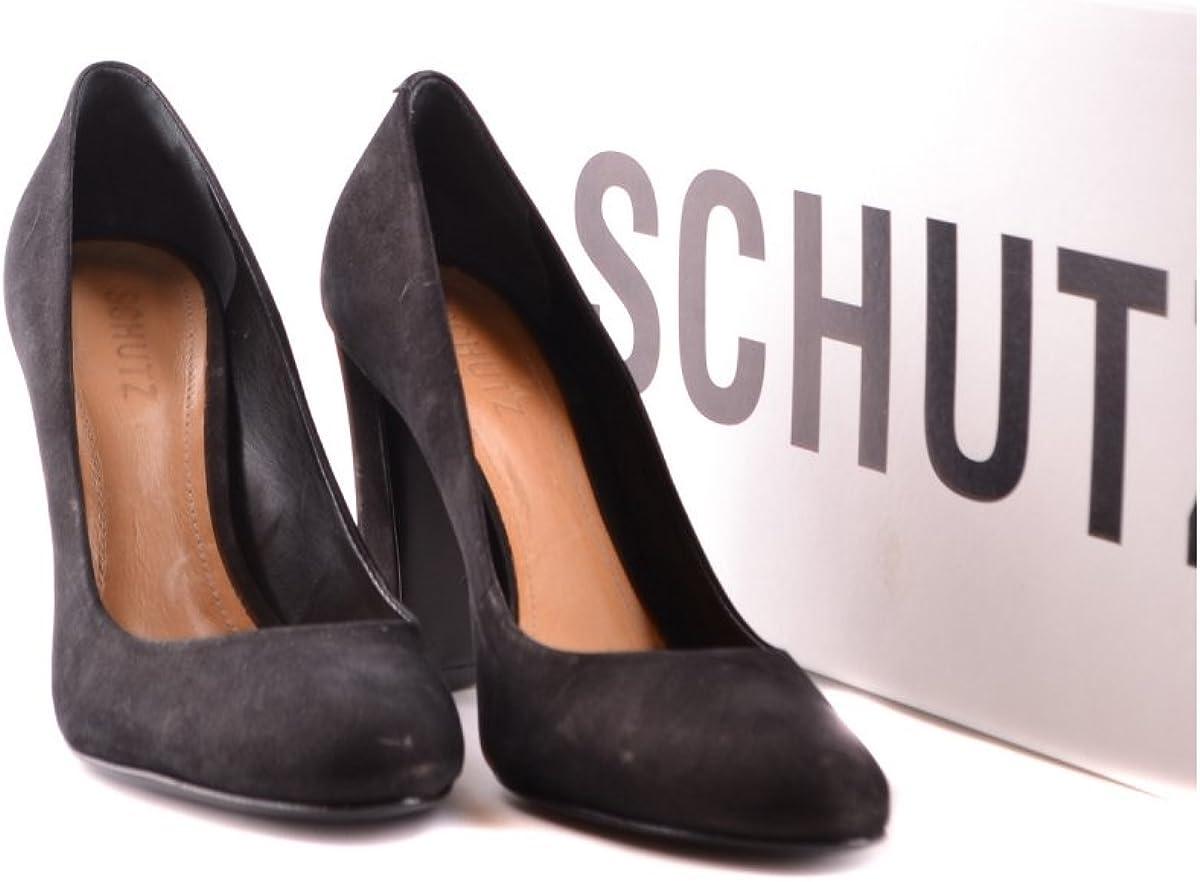 SCHUTZ Womens Mariony Suede Pumps