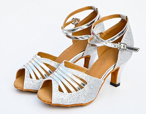 MGM Heel 6cm Moderno Joymod Donna Jazz e Silver qqvwaS4