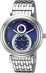 Lucien Piccard Watches Polaris Multi-Function Stainless Steel Watch