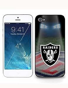 Girl Cover Iphone 6 plus (5.5) Skin Case - Oakland Raiders NFL Logo