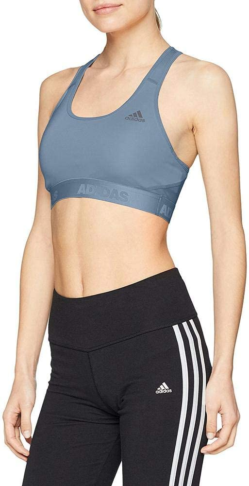 adidas AlphaSkin Sujetador Deportivo, Gris, XS para Mujer: Amazon ...