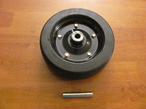 Heavy Finish (NEW Replacement BUSH HOG Solid Finish Mower Wheel 10