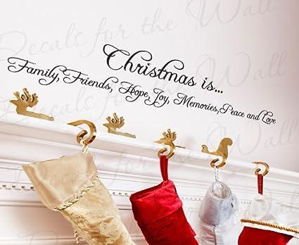 Amazon Com Christmas Family Friend Hope Joy Peace Love Christmas