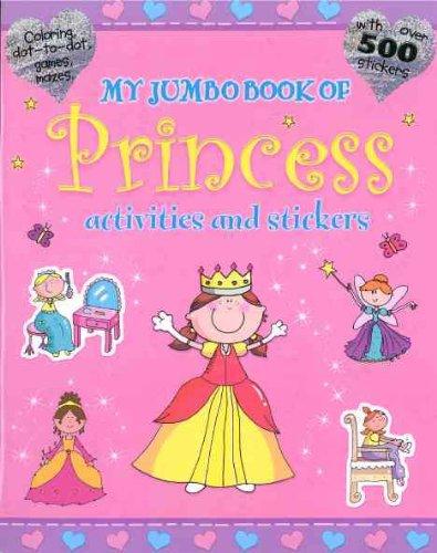 Download My Jumbo Princess Sticker and Activity Book pdf epub