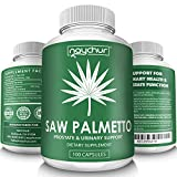 Saw Palmetto Prostate Supplements for Men Women Prostate Health Berries Powder Extract Complex- DHT Blocker to Prevent Hair Loss – Urinary Flow Support Supplement – Non GMO 500mg Capsules For Sale