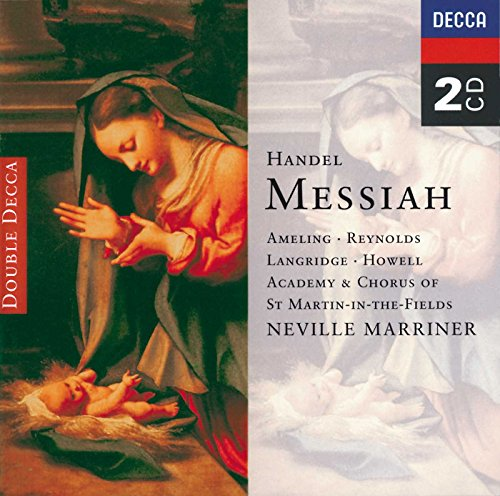 Handel - Messiah / Ameling  A. Reynolds  Langridge  Howell  Marriner