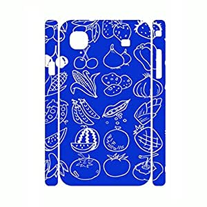 Fancy Delicious Fruit Stylish Pattern Handmade Hard Plastic Phone Case for Samsung Galaxy S I9000