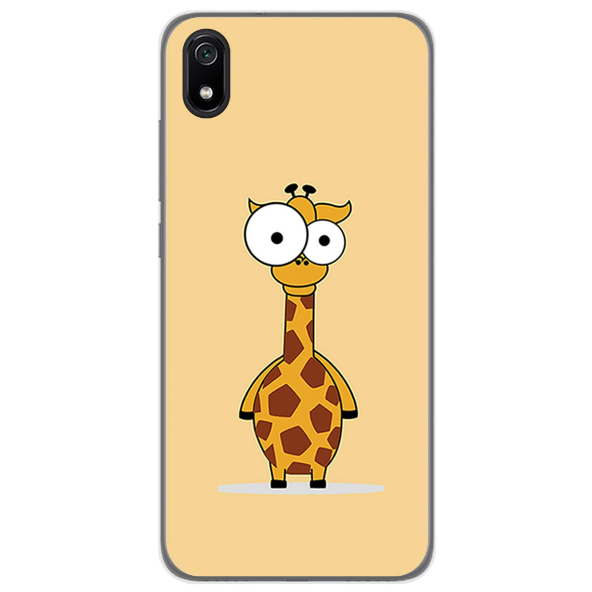 Funda Gel Tpu para Xiaomi Redmi 7A diseño Corazones Madera Dibujos