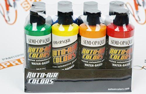Orange Auto Air Colors - 1