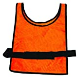 MARTIN SPORTS Heavy Weight Scrimmage Vests, Orange