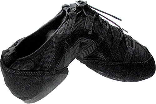 Men's Women's Practice Dance Sneaker Shoes Split Sole Black VFSN005EB Comfortable - Very Fine 9 M US [Bundle of 5] by Very Fine Dance Shoes (Image #6)