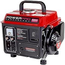 PowerPro 56101, 900 Running Watts/1000 Starting Watts, Gas Powered Portable Generator