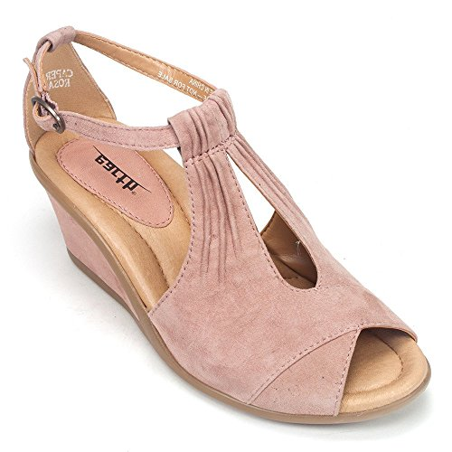Earth Women's Caper Ankle Strap Sandal,D - Orthotic Heel Wedges Shopping Results