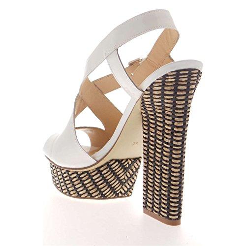 GUESS Zapatos Jolan Mujer Talla 40UVP 190, de Euro jlnpat Black–Zapatillas para mujer sandalias Blanco