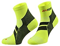 ZaTech Plantar Fasciitis Sock, Compression Socks. Heel, Ankle, Arch, Support.
