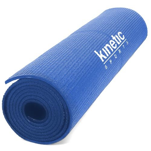 Kinetic Sports YM03 Blau Yogamatte 180 x 60 cm, 5 mm dick
