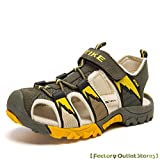 WETIKE Kids Sandals Summer Beach Breathable Athletic Outdoor Closed-Toe Sandals for Boys and Girls Shoes (Toddler/Little Kid/Big Kid)