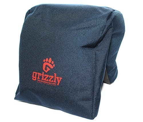 Grizzly Camera Bean Bag (LARGE-BLUE), Photography Bean Bag, Video Bean Bag, Camera Support, Camera Sandbag, Spotting Scope Support, Birders Bean Bag, Tripod, African Safari, Photography Tours