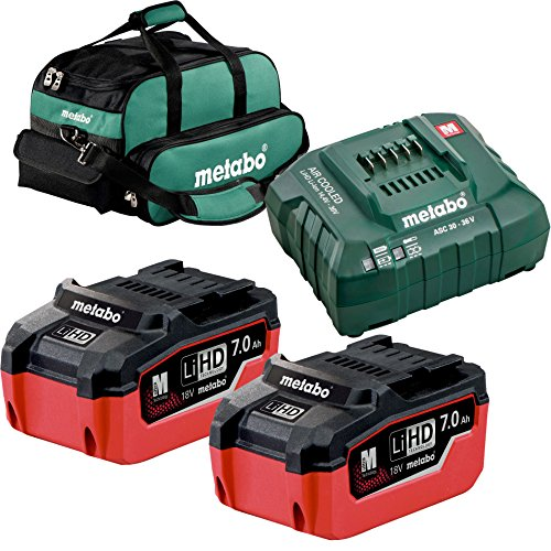 Metabo US625345002 LiHd Ultra-M Pro Cordless Starter Kit w/ 2x 7ah + Charger by Metabo