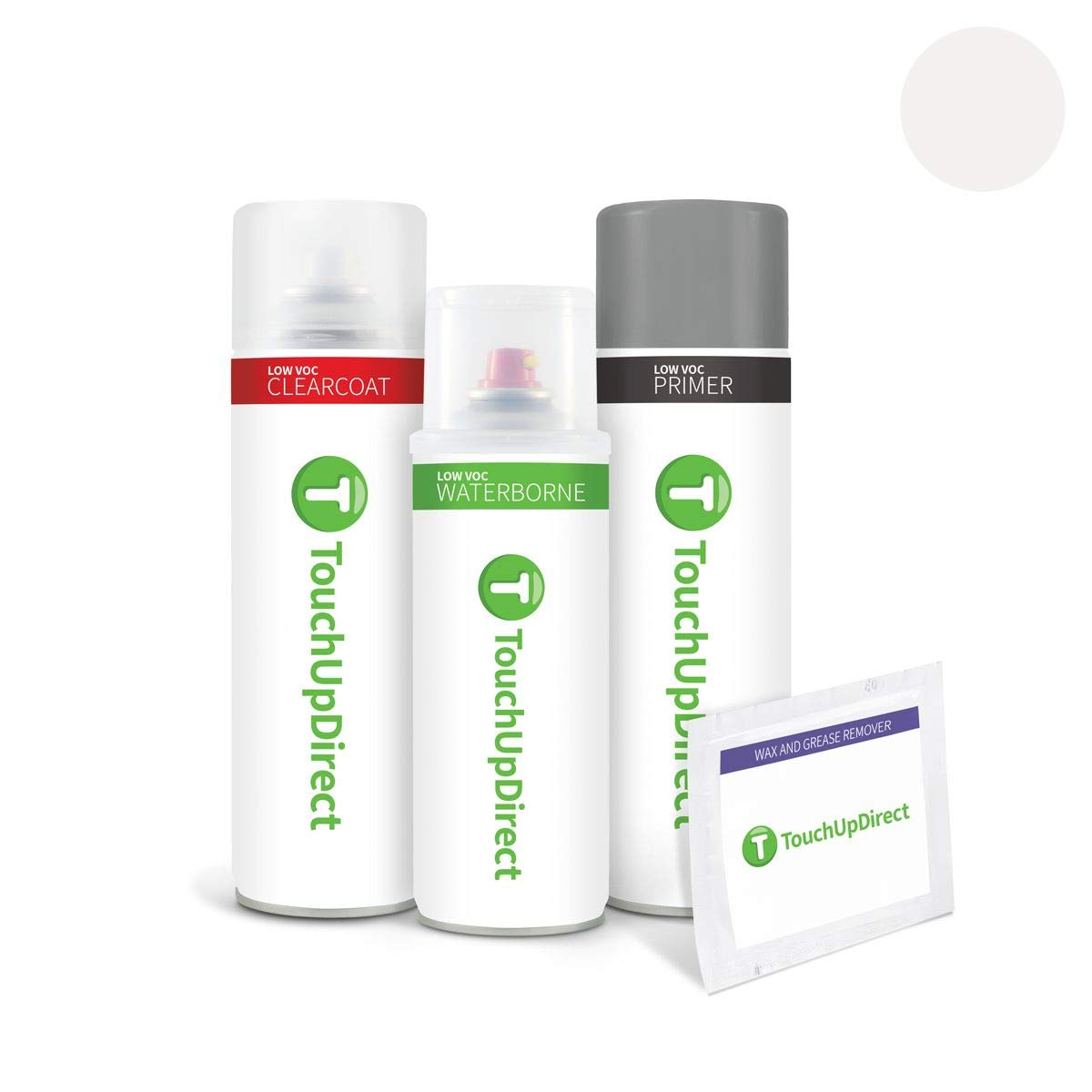 TouchUpDirect for Audi Exact Match Automotive Touch Up Paint - Ibis White (LY9C/T9)