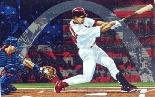 Rick Rush - National Hero Millennium Lithograph