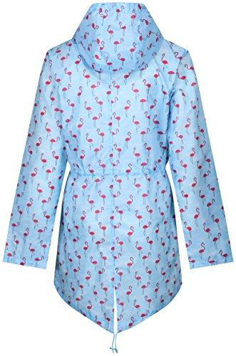 Raindrops Finesse Print Abrigo Mujer By Flamingo Impermeable Para CCw4B1rq