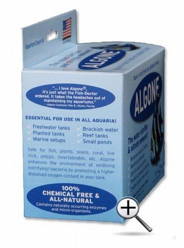[해외]알곤 수족관 정수기 및 질산염 리무버, 대형/Algone Aquarium Water Clarifier and Nitrate Remover, Large