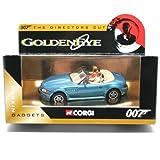 BMW Z3 * GOLDENEYE * 2003 Corgi Classics The Directors Cut Series James Bond Collection 1:36 Scale Die-Cast Vehicle by Corgi