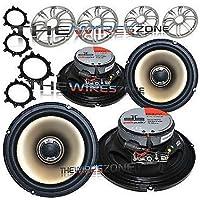 Polk Audio DB651 6.5 Car/Marine/Boat 360 Watts Coaxial Speaker (2 pairs)