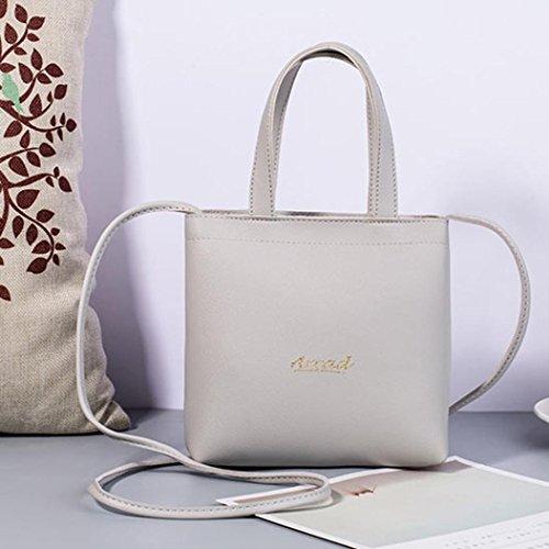 Bag Cabas À Porte Femme Gris Mini Messager Sac Mode Messenger Femmes De monnaie Bandoulière Jiangfu Main XCBUPqxCw