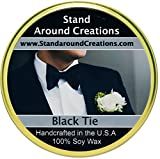 Premium 100% Soy Tureen Candle - 11 oz. - Black Tie: Sophisticated notes of leather w/ warm woods, patchouli, musk.