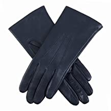 Dents Emma Classic Smooth Grain Ladies Gloves 6.5 Navy