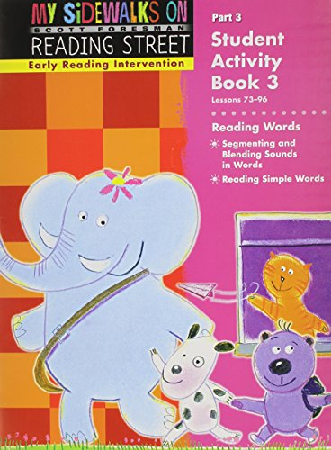 EARLY READING INTERVENTION STUDENT ACTIVITY BOOK GRADE K PART 3