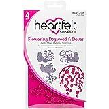 Heartfelt Creations Flowering Dogwood & Doves 1.75'' to 4.25'' Emboss Dies