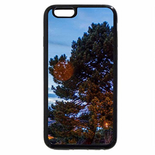 iPhone 6S / iPhone 6 Case (Black) harbor in la curona spain at dusk hdr