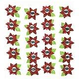 Jolee's Boutique Dimensional Stickers, Poinsettia Mini Repeats