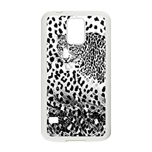 SamSung Galaxy S5 G9006V Leopard Phone Back Case DIY Art Print Design Hard Shell Protection FG028379