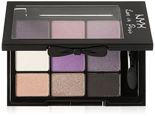 NYX Professional Makeup Love in Paris Eyeshadow Palette, Be
