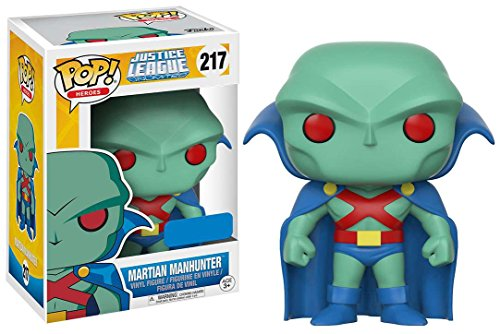 """justice+league Products : Funko POP! #217 Justice League Unlimited """"Martian Manhunter"""" Walmart Exclusive!"""