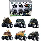GreenKidz Pull Back Dinosaur Car Toys The Epic...