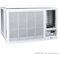 Lg Lw2415hr Window Air Conditioner - 22, 500/23, 000 Btu Cool 9, 400/11, 600 Btu Heat (Certified Refurbished)