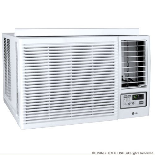 Lg Lw2415hr Window Air Conditioner - 22, 500/23, 000 Btu Cool 9, 400/11, 600 Btu Heat (Renewed)