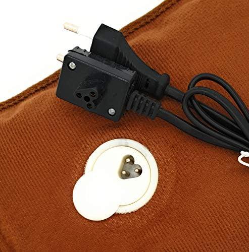 MovilCom® Elektrische Wärmflasche mit Bezug | Wiederaufladbar in 15 Minuten | Heizkissen / Handwärmer, 600 Watt | Ideal bei Schmerzen von Rücken, Muskeln, Gelenke, Menstruation, Rheuma (Mod.12)