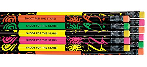 WalterDrake Personalized Neon Pencils - Set Of 12
